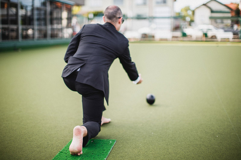 Greg and Kylie's amazing alternative wedding featuring a cinema and lawn bowls (78)