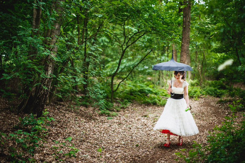Eva and Jean's Camping/DIY Wedding in a Forest near Utrect, Netherands (208)
