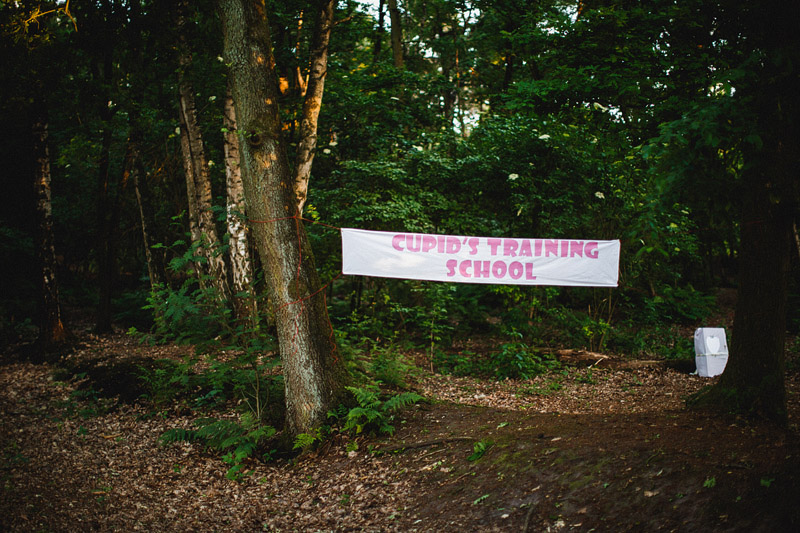 Eva and Jean's Camping/DIY Wedding in a Forest near Utrect, Netherands (48)