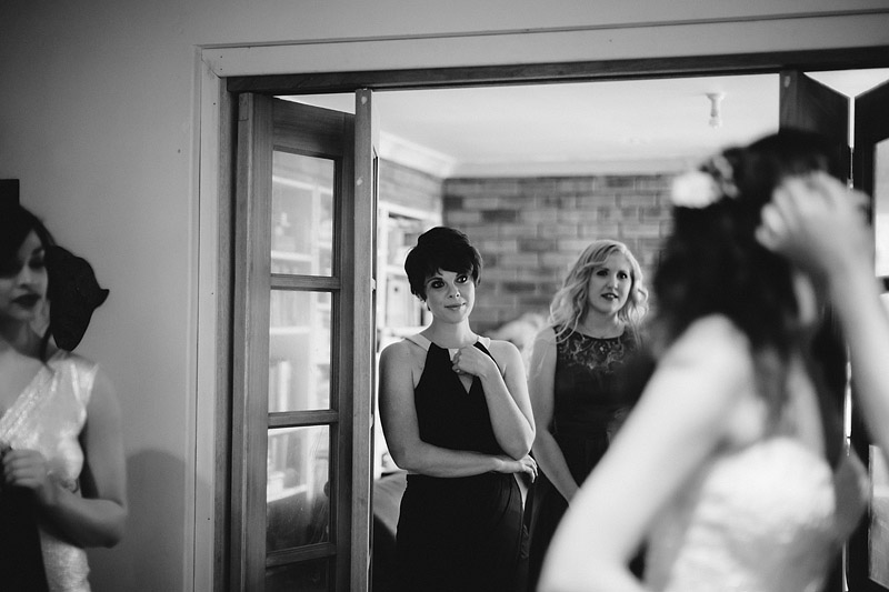 Tim and Stacey's cute and alternative wedding at the Guildford Grammar School Chapel in Perth and the Little Creatures Brewery in Fremantle