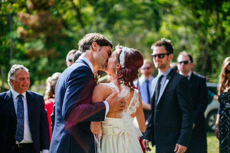 Nathan and Paris' epic wedding with teepees in Melbourne - shot by Cass