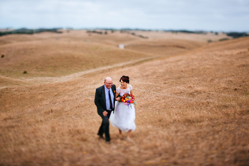 Lindsey and Ned's amazing North West Tasmanian Wedding adventure