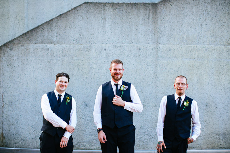 Caitlin and Adam's Alternative and Offbeat National Gallery of Victoria wedding in Melbourne