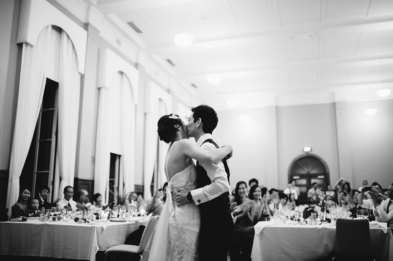 Dan and Fiona's classic wedding at Werribee Mansion just near Melbourne