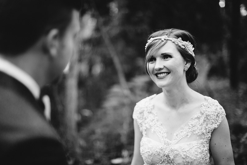 Ellie and Brad's DIY wedding in a (large) backyard just near Melbourne