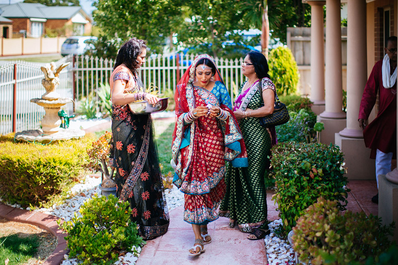 Shally and Rahoul's Beautiful Outdoor Hindu Wedding in Melbourne