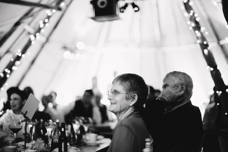 A destination wedding in Scotland in a beautiful tent!