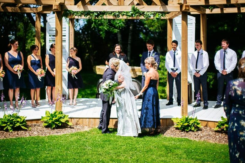 Lindsay and Steve's Canadian Destination wedding at Niagara-on-the-Lake, Ontario!