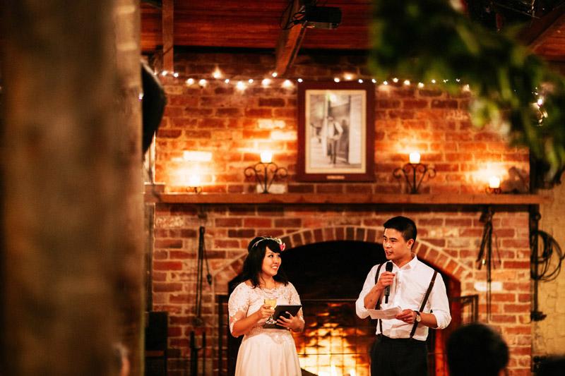 Richard and Clarissa's colourful farm wedding in Melbourne-158