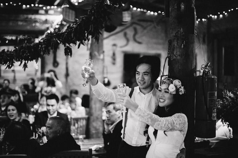 Richard and Clarissa's colourful farm wedding in Melbourne-159